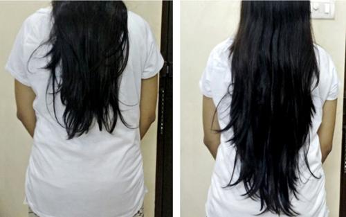 pousser les cheveux rapidement