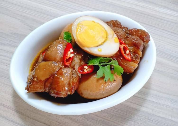 Công thức nấu món thịt kho tàu ngon như nhà làm