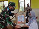 Ringankan Beban Masyarakat TNI - Polri Adakan Kegiatan Bansos
