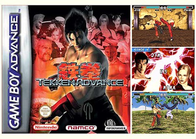 tekken advance Full Characters GBA Apk For Android