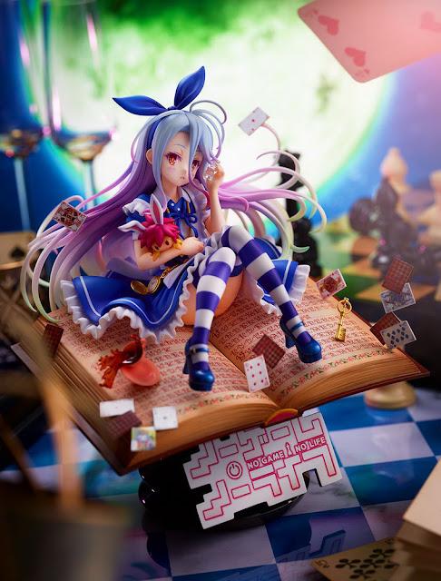 No Game No Life – Shiro -Alice in Wonderland Ver.-, Shibuya Scramble Figure