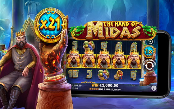 Goldenslot The Hand of Midas™