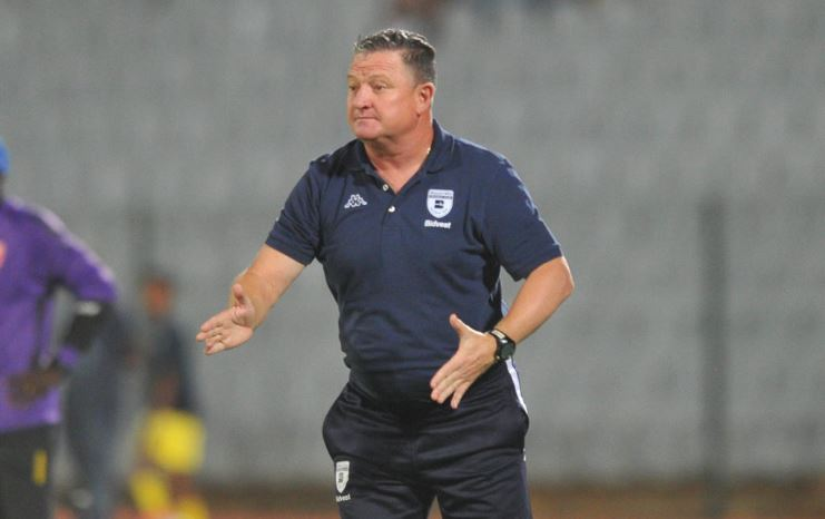 Bidvest Wits head coach Gavin Hunt