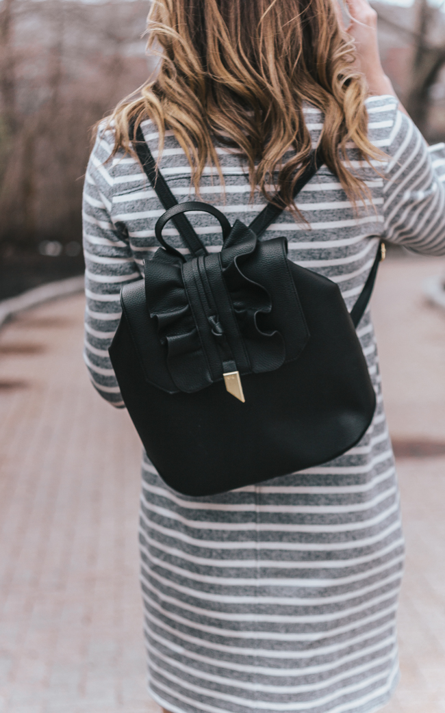 Foley and Corinna Backpack #blackbag #backpack