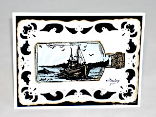 Stamps - Our Daily Bread Designs Apothecary Bottles, ODBD Custom Apothecary Bottles Die, Ornate Borders Sentiments, The Waves on the Sea