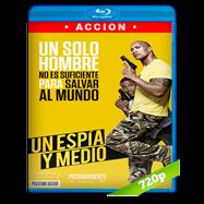 Un espía y medio (2016) UNRATED BRRip 720p Audio Dual Latino-Ingles