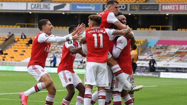 Highlights Arsenal Tekuk Wolverhampton Wanderers 2-0