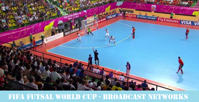 Futsal World Cup 2016 Broadcasting Rights