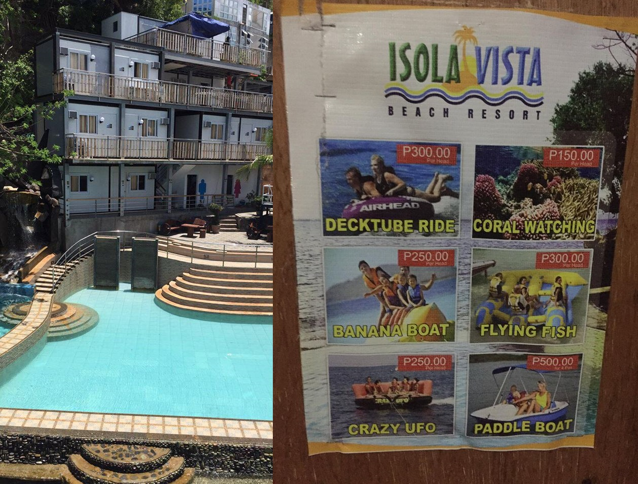 how to go to isola vista batangas