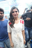 Samantha Ruth Prabhu Smiling Beauty in White Dress Launches VCare Clinic 15 June 2017 101.JPG