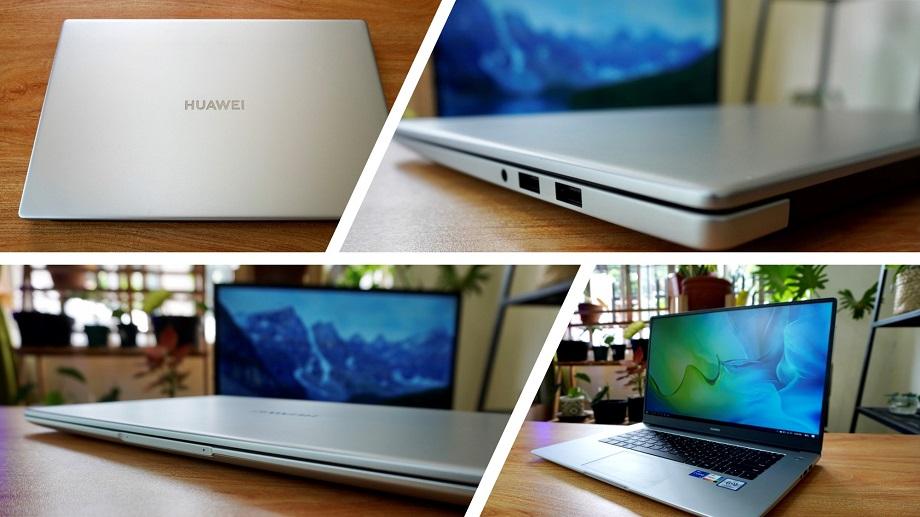 Huawei MateBook D15 2021 Review - Design