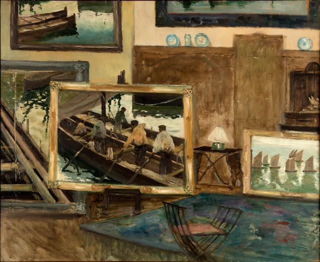 Cuadros en el Estudio, Enrique Martínez Cubells, Pintor español, Pintores españoles, Martínez Cubells, Retratos de Enrique Martínez Cubells, Pintores Valencianos