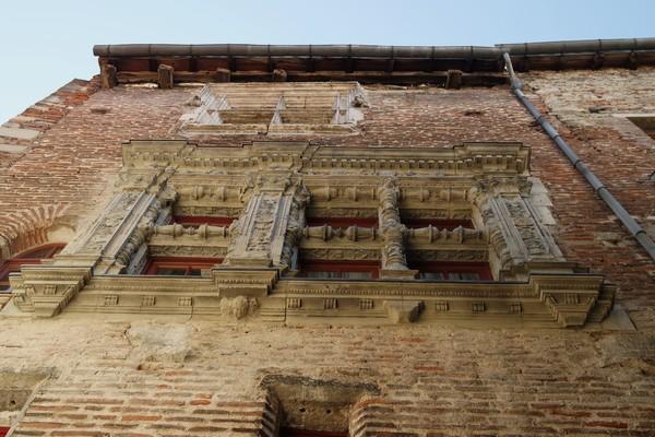 cahors vieille ville façade XVIe siècle rue bergougnioux