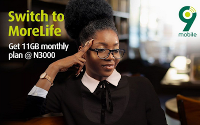 9mobile Crashes Call Rates with Morelife – Introduces Cheap Data Plan