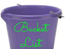 THE BUCKET LIST - Forty before 40 REVISITED!!!