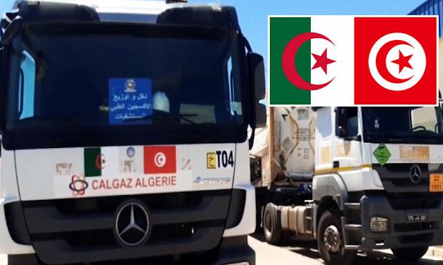 الجزائر تتبرع بـ 100 ألف متر مكعب من الأكسجين لـ تونس