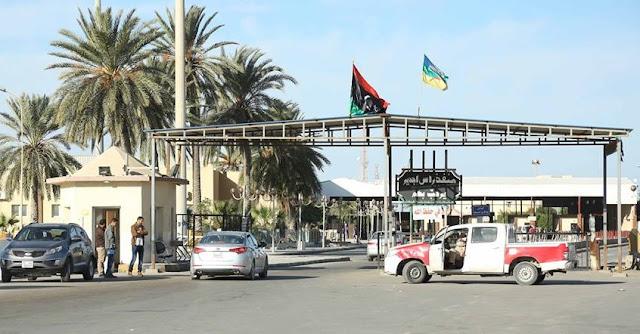 تونس ، ليبيا ، معبر رأس جدير ، فتح الحدود،  حربوشة نيوز