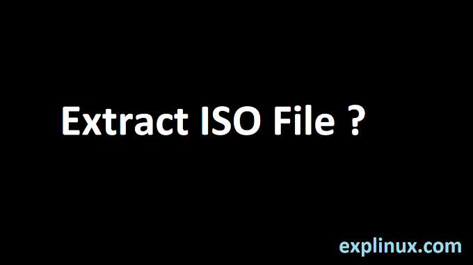 How To Open/Extract ISO File in Linux