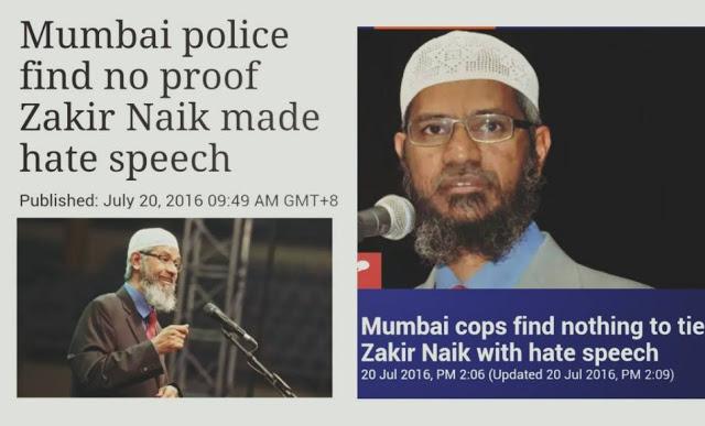 Alhamdulillah!! Kabar Gembira, DR. Zakir Naik Dinyatakan Tidak Bersalah dan Terbebas Dari Segala Tuduhan