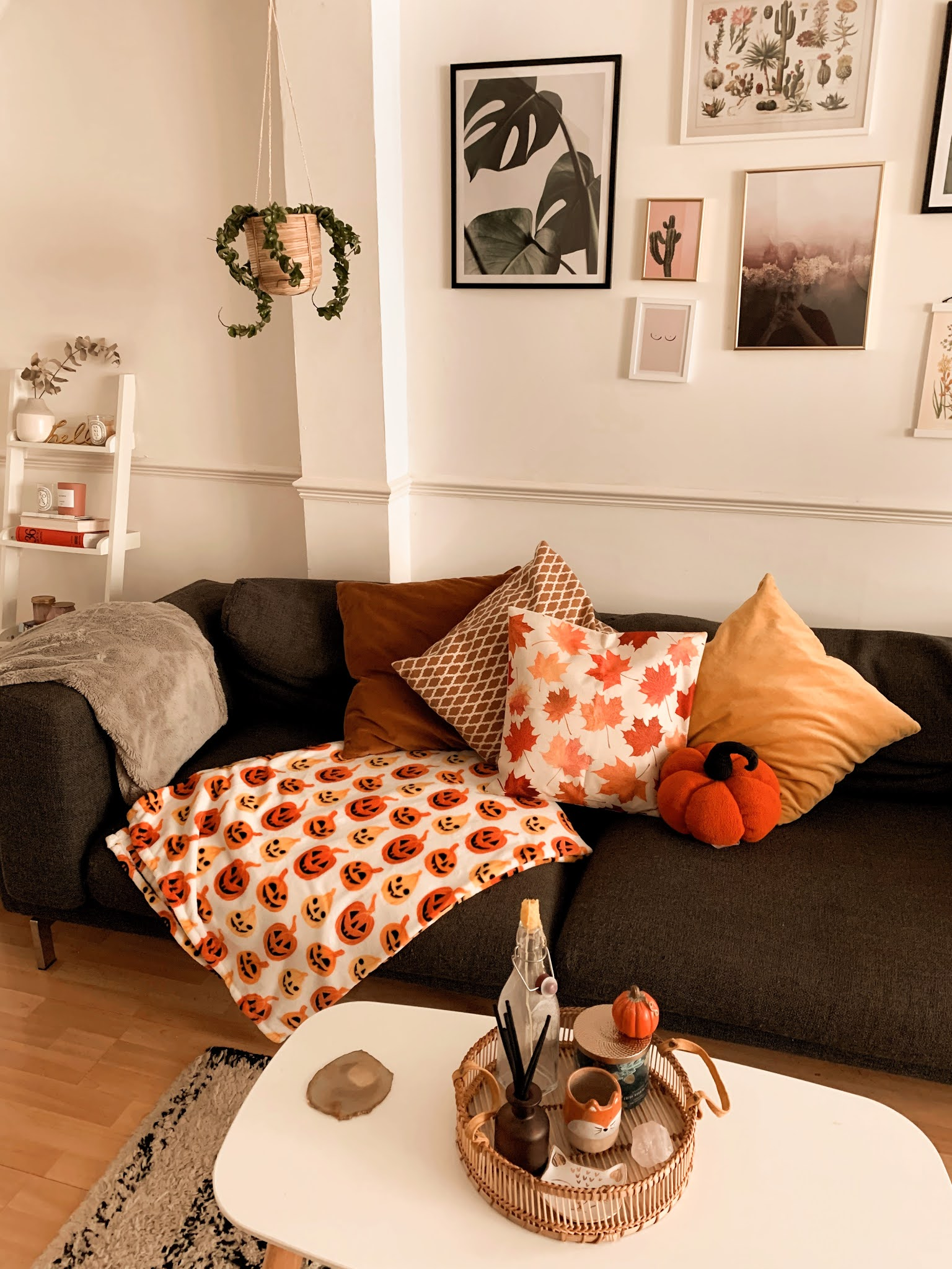 Autumn Home Decor Cosy Fall Living Room