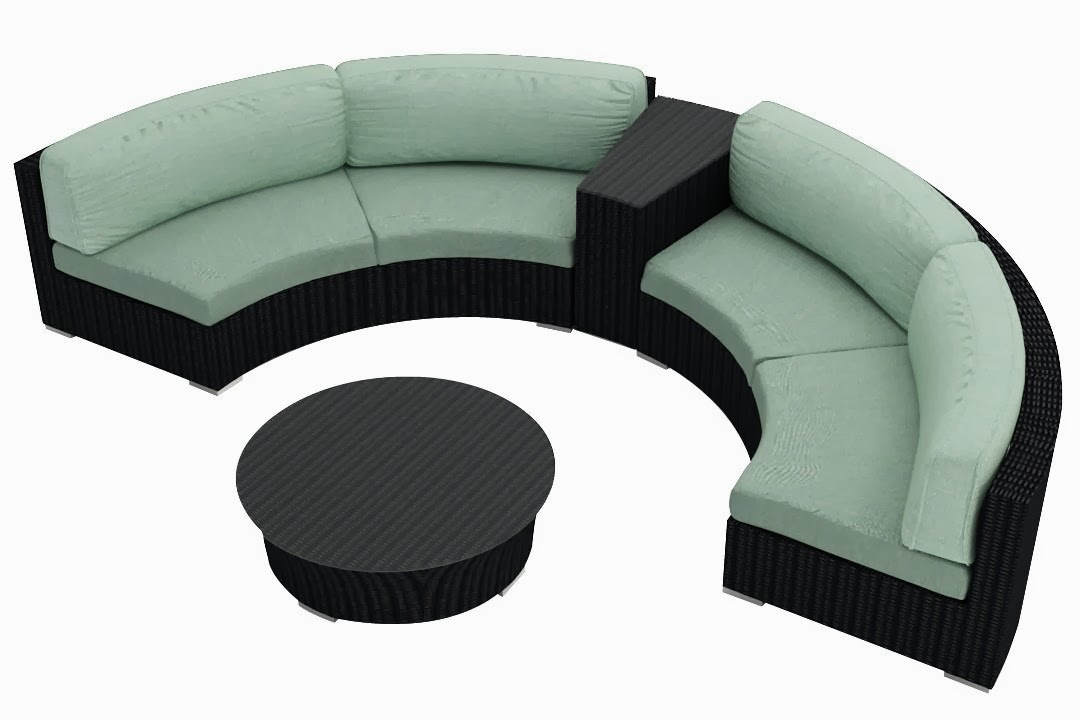 Small sectional sofas reviews small curved sectional sofa for Small outdoor sofa