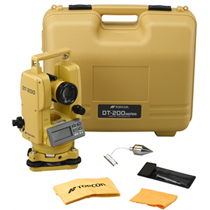 Jual Digital Theodolite Topcon DT-205L */* NEW - Harga Murah