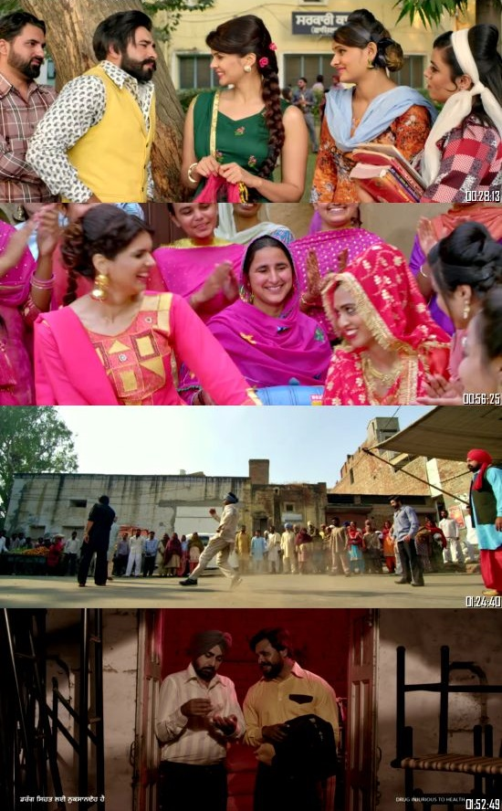 Blackia 2019 Punjabi 480p WEB-DL 400MB Desirehub