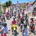 PICUÍ : MOTOCICLISTAS EM MOTORREATA COM CAPACETES