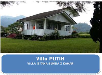 Villa 2 kamar pemandangan indah lembang