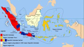 Peta Indonesia Timur dan Wilayah