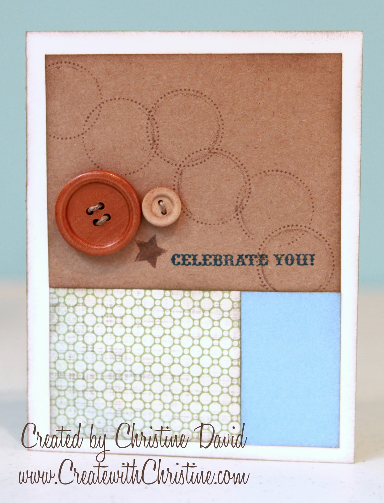 create with christine a week of cards celebrate you. Black Bedroom Furniture Sets. Home Design Ideas