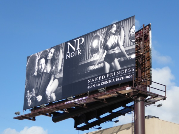Naked Princess NP Noir billboard