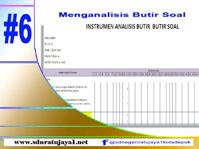 Langkah Menganalisis Butir soal dalam menyusun blue print ujian sekolah /kisi-kisi usbn