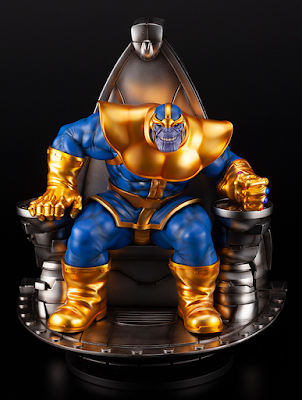 Thanos on Space Throne Fine Art Statue by Kotobukiya x Marvel Comics