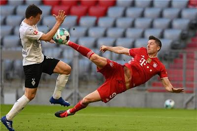 ملخص واهداف مباراة بايرن ميونخ وبوروسيا مونشنجلادباخ (6-0) الدوري الالماني