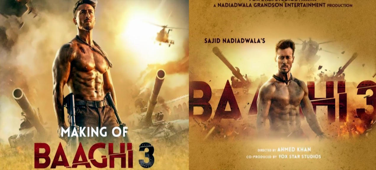 Makers have done some experiments to keep the action high in Baaghi 3. Shraddha Kapoor said that in the film, action sequences have been filmed between about 400 bomb blasts.