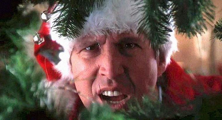 Clark Griswold (Chevy Chase) in Schöne Bescherung. Quelle: Screenshot Warner DVD (skaliert)