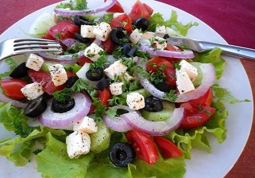 Turkish Olive Salad