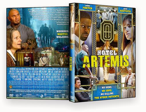 CAPA DVD – Hotel Artemis AUTORADO