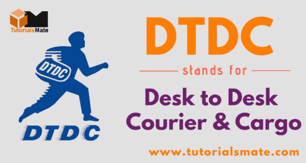 DTDC Full Form