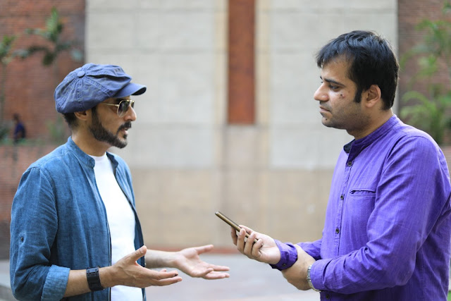 Interviewing Raazi actor Ashwath Bhatt