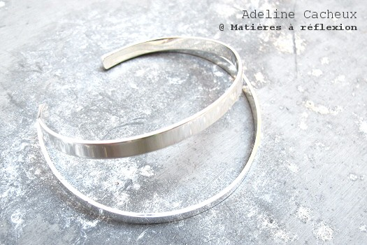 Adeline Cacheux bracelet Pop Stripes
