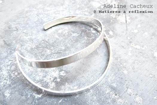 Adeline Cacheux bracelet Pop Stripes