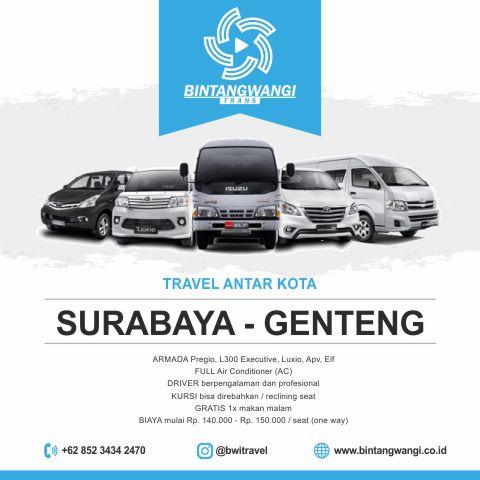 Travel Surabaya Genteng Banyuwangi
