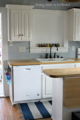 A Minimalist Montessori Kitchen: The Sink