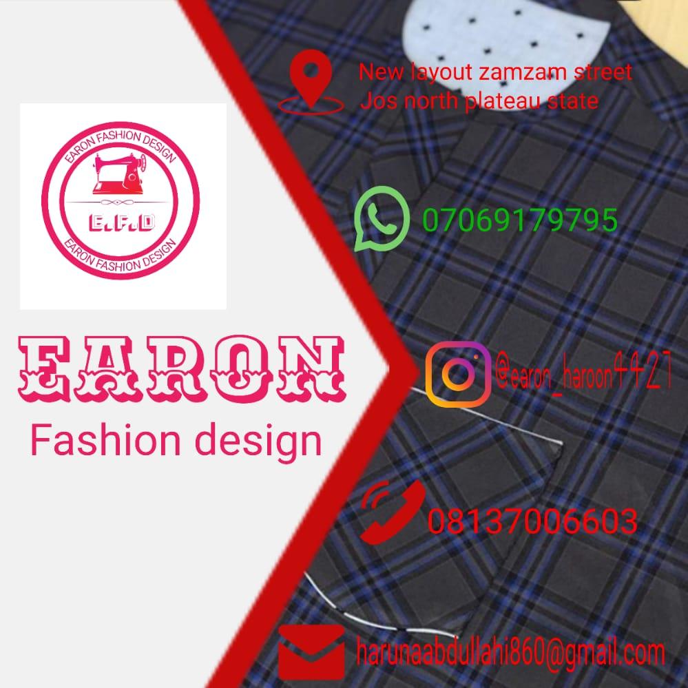 [Fashion] EARON HAROON FASHION DESIGN #Arewapublisize