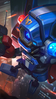 Cyclops SABER Blaster Heroes Mage of Skins V2