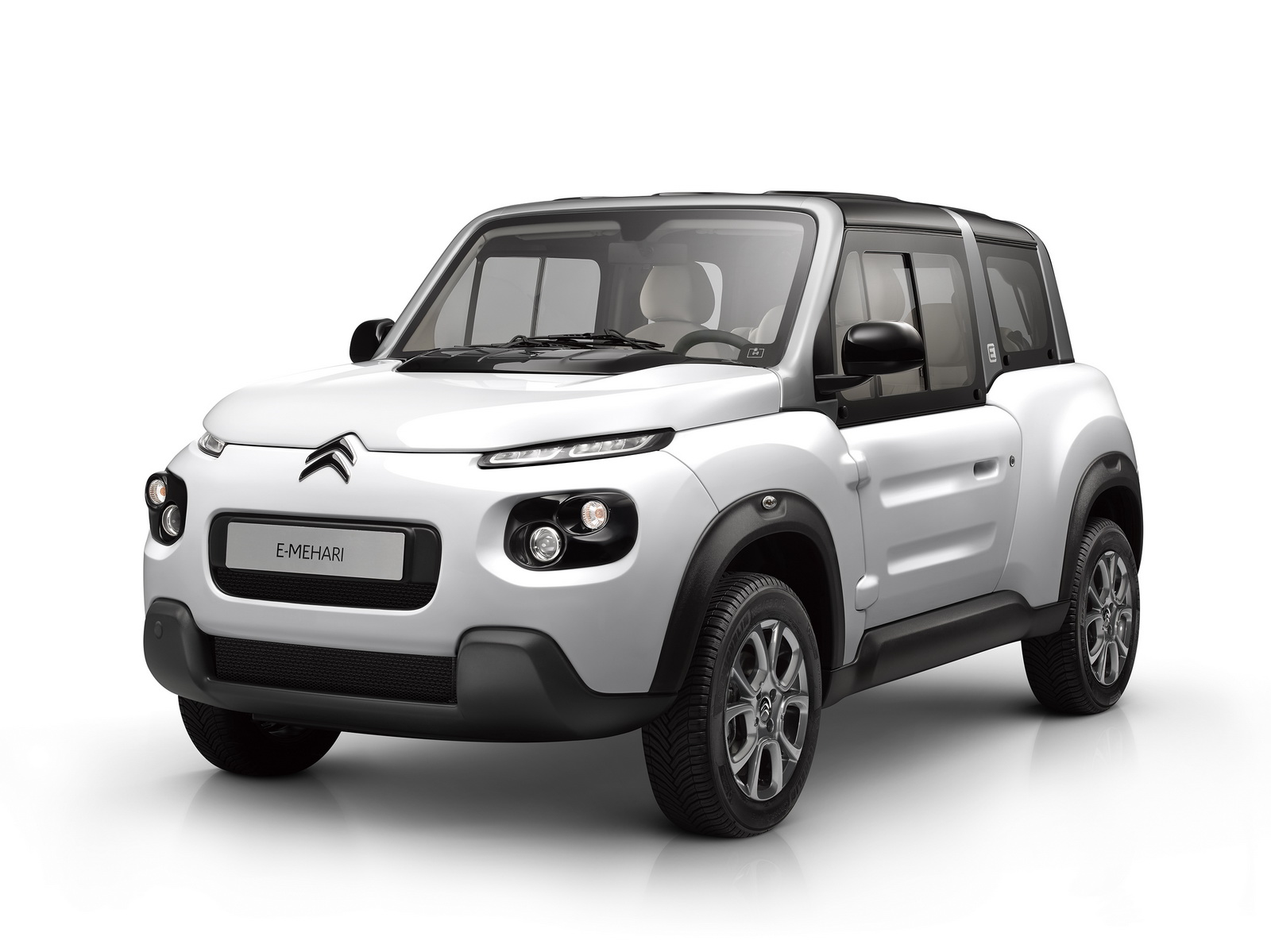 Electric Citroen E Mehari Becomes More Practical With New
