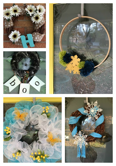 Make a wreath for every season!
