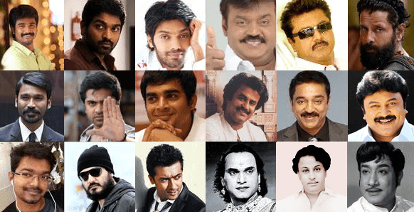 Tamil actors caste